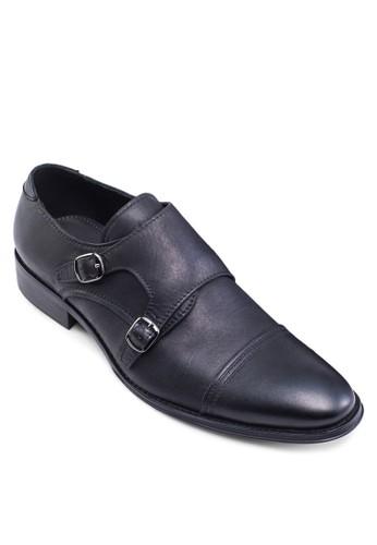 雙帶孟克皮鞋, 鞋, zalora 心得鞋