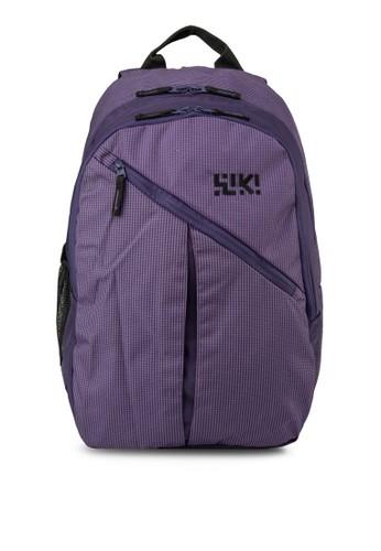 Stoppie 撞色內襯後背包, 包, 旅行背zalora 評價包