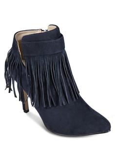 流蘇高跟靴