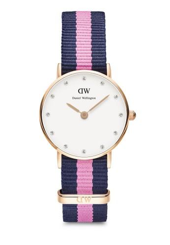 Classy Winchester 26mm 鑲鑽手錶, 錶類, 其zalora退貨它錶帶