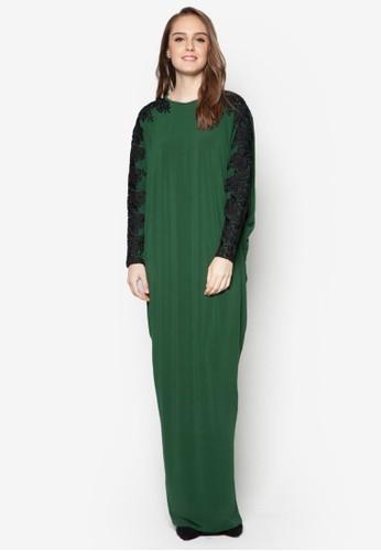 Laguna Dress from FLEUR in Green