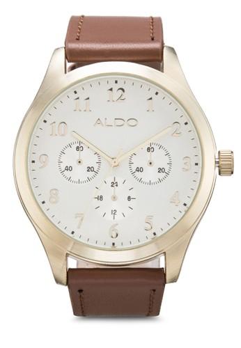 zalora 評價Besnard 皮革手錶, 錶類, 皮革錶帶