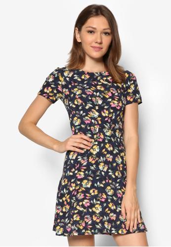 碎花短袖連身裙, 服飾zalora taiwan 時尚購物網鞋子, 夏日洋裝