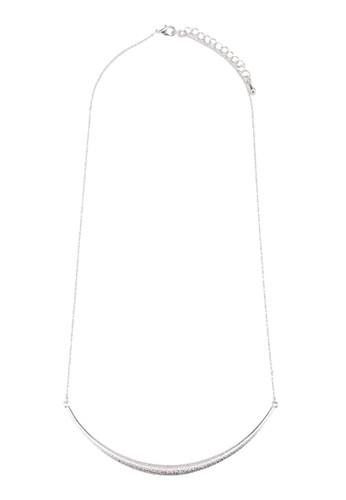 Keren 簡約牌飾項鍊, 飾品配件,zalora 台灣 飾品配件