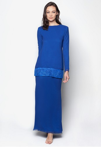 Ellis Kurung Modern from Izzabell Couture in Blue