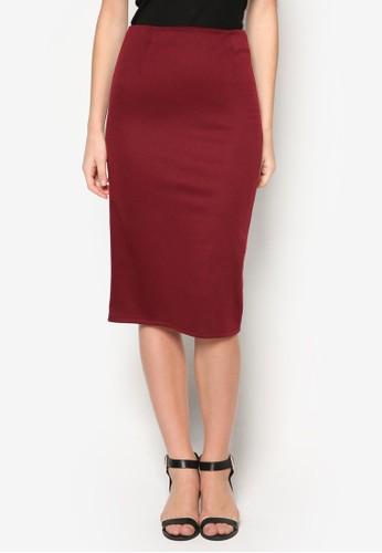 基本款及膝鉛筆短裙, 服zalora 台灣飾, 服飾