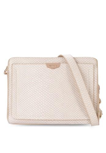 PUzalora是哪裡的牌子 立體蛇紋斜背包, 包, 飾品配件