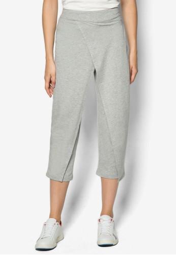 裹式休閒七分褲, 服飾, 直腳zalora 包包評價褲