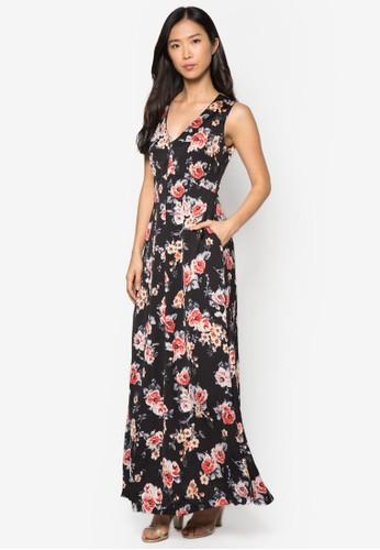 Collectizalora退貨on 花卉長洋裝, 服飾, 夏日洋裝