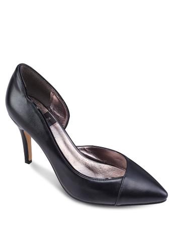 側鏤空尖頭高跟鞋, zalora 心得女鞋, 鞋