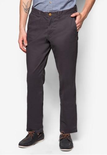 Pants woven length service, 服飾,zalora 評價 直筒褲