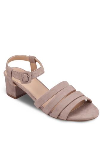 多帶繞踝方根涼zalora鞋子評價鞋, 女鞋, 細帶高跟鞋