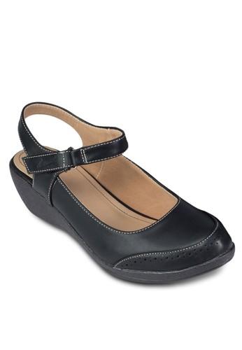 踝帶包頭厚底休閒鞋zalora 鞋評價, 女鞋, 涼鞋
