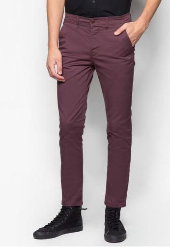彈性窄管長褲, 服飾, zalora 心得長褲