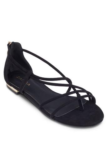 多帶包跟zalora 心得平底涼鞋, 女鞋, 涼鞋