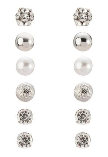 Raccalta 六入耳釘, 飾品zalora 包包評價配件, 飾品配件