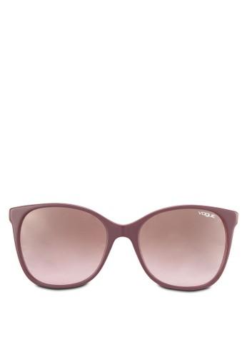 雕花休閒太陽眼鏡, 飾品zalora 順豐配件, 3D Braid