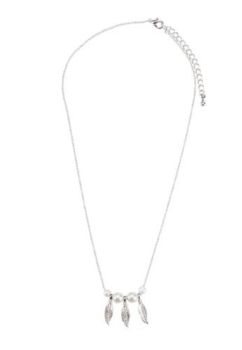 Joanna 葉子珍珠項鍊, 飾品配件,zalora鞋子評價 女裝飾品