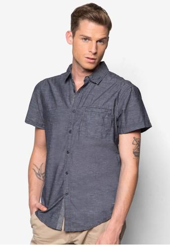 簡約短袖襯衫,esprit 台灣門市地址電話 服飾, 襯衫