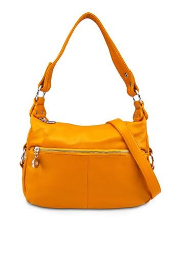 暗紋仿皮肩背包, 包, 肩zalora時尚購物網的koumi koumi背包