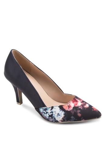 Maggie 花卉印花尖頭高跟鞋, zalora 手錶 評價女鞋, 厚底高跟鞋