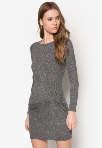 扭飾貼身迷你連身裙, 服飾,代購topshop topman urban outfitters 洋裝