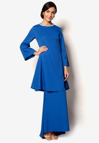Puteri Kurung from S.Baharim by Syaiful Baharim in Blue