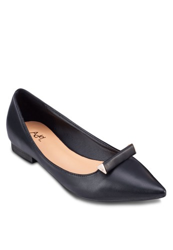 時尚尖頭zalora taiwan 時尚購物網平底鞋, 女鞋, 鞋