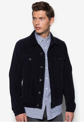 暗紋長袖外套, 服飾,zalora 鞋評價 服飾