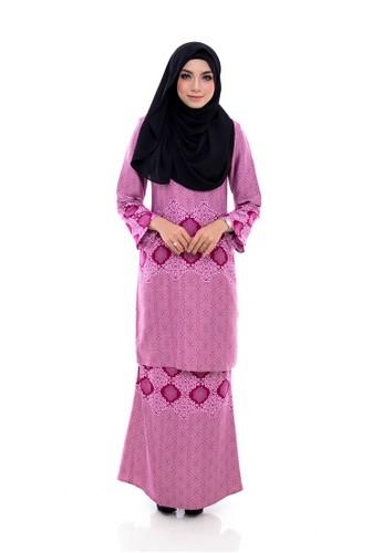 Kurung Modern Humaira ( Pink ) from Nur Shila in Pink