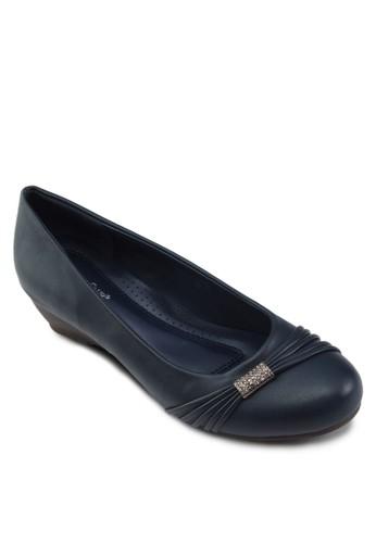 閃飾楔形淑女zalora開箱鞋, 女鞋, 鞋