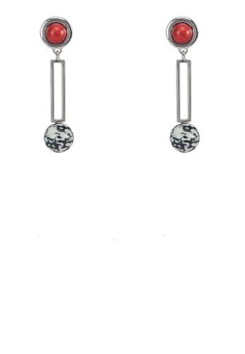 寶石牌飾吊墜耳環, 飾品配件, 飾品mango門市配件