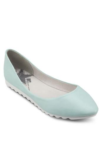 仿皮尖頭平底鞋, 女鞋, zalora 鞋評價鞋