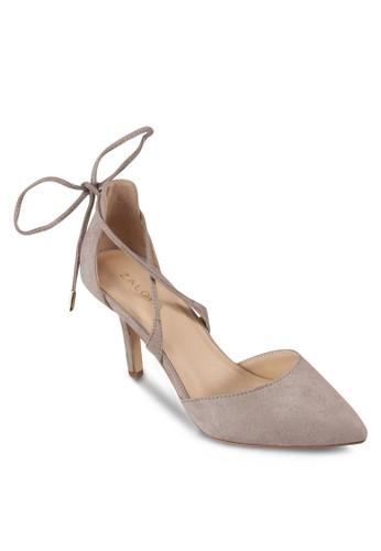 尖頭繫帶高跟鞋, 女鞋, 細帶zalora鞋子評價高跟鞋