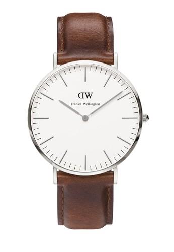 經典 St Maves 皮革錶, 錶zalora 包包評價類, 皮革錶帶