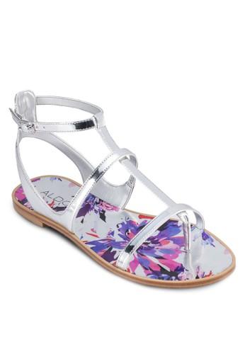 Tipaldo平底鞋hanie 多帶夾趾涼鞋, 女鞋, 鞋