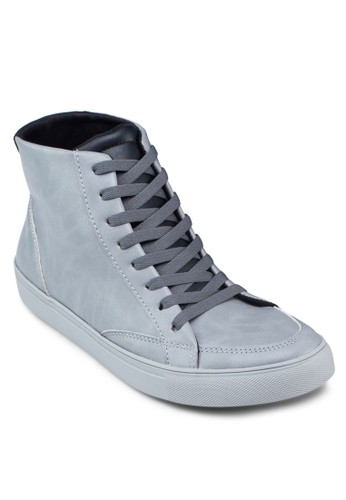 High Top Laczalora taiwan 時尚購物網ed Up Sneakers, 鞋, 休閒鞋