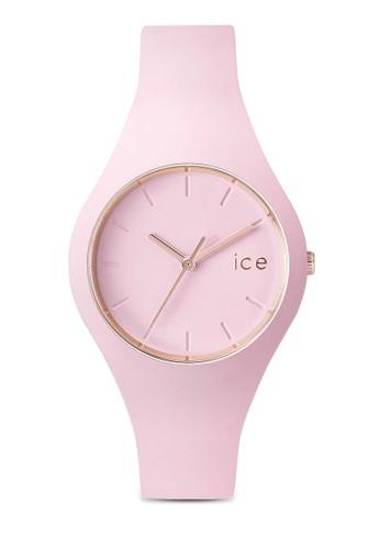 Ice Glam 矽膠小zalora 男鞋 評價圓錶, 錶類, 休閒型