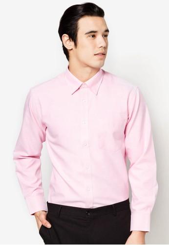 混棉zalora 台灣長袖襯衫, 服飾, 襯衫