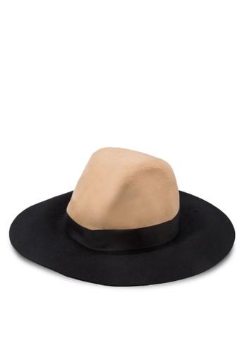 撞色羊毛圓頂帽,topshop代購 飾品配件, 飾品配件