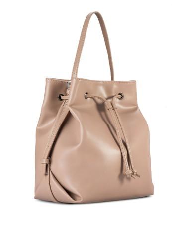 抽繩水zalora 包包 ptt桶手提包, 包, 手提包