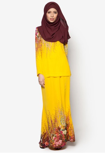 SpringIt Kurung Moden from Cod in Yellow