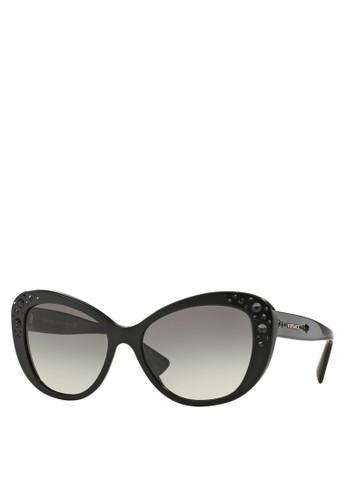 Rock Icons 閃飾太陽眼鏡, 飾zalora 鞋評價品配件, 貓眼框