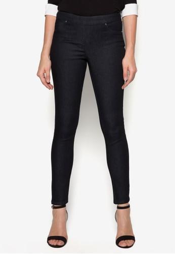 側拉鍊貼zalora 心得身長褲, 服飾, 長褲及內搭褲