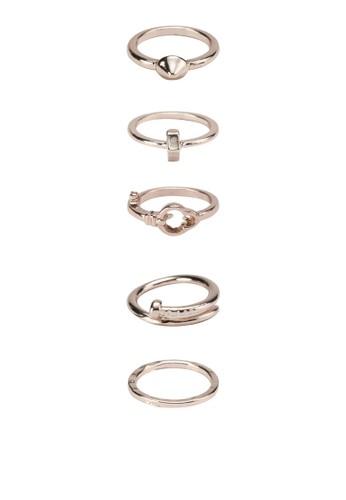 五入戒子套組, 飾品配件zalora 心得, 戒指