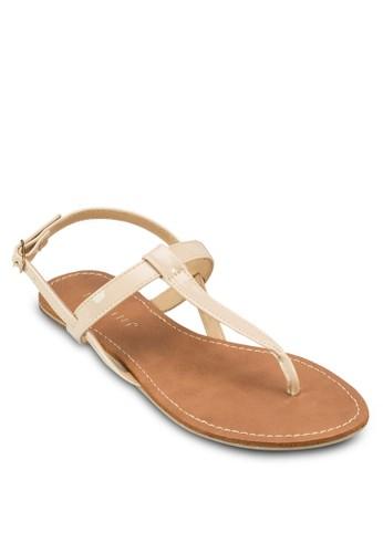 Humble 夾腳繞踝平底涼zalora 鞋評價鞋, 女鞋, 涼鞋