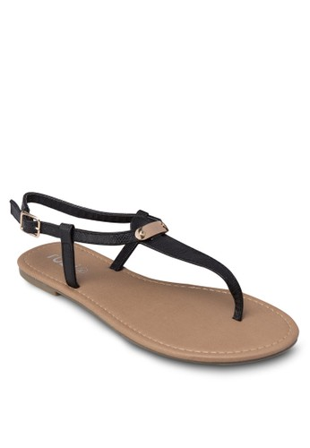 Cilla 夾zalora 心得腳涼鞋, 女鞋, 鞋
