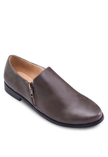 側拉鍊仿皮踝靴,zalora 心得 女鞋, 靴子