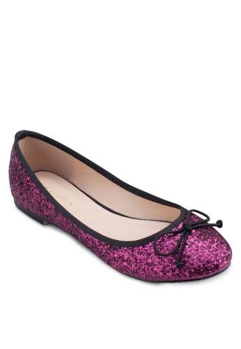 蝴蝶結亮面平底鞋,zalora 包包 ptt 女鞋, 鞋