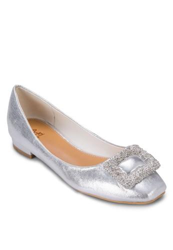 閃飾平底zalora 手錶 評價鞋, 女鞋, 鞋